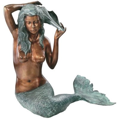 Design Toscano Large Mermaid of the Isle of Capri Sculpture