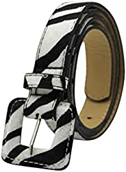 RARITYUS Womens Fashion Belt Cow/Snakeskin/Leopard/Zebra Print PU Leather Waist Belt Band for Dress Jeans Pant