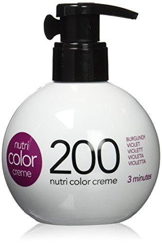 🥇 REVLON PROFESSIONAL Nutri Color Cream 3 Minutes #200-Violet