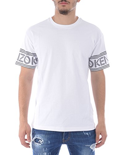 kenzo-mens-f665ts0434bd01-white-cotton-t-shirt