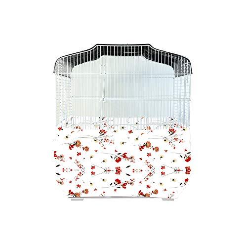 Qchengsan cobertor para Jaula de pájaros, Protector de Semillas y ...