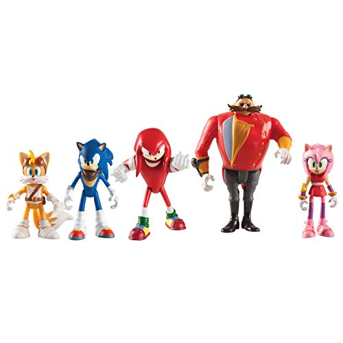 SONIC Tomy Boom Action Figure Multi Pack, of 5