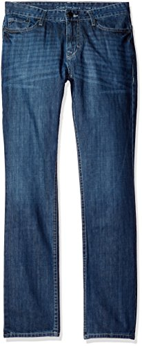 Calvin Klein Jeans Men's Slim Straight Jean, Kryptonite Wash,