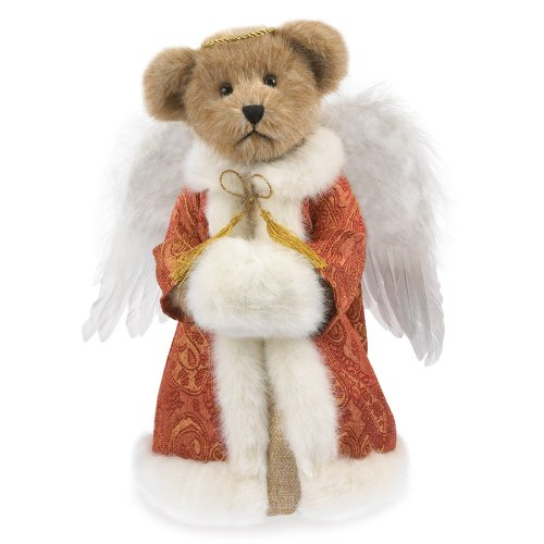 "UPC 045544704403, Boyds Plush 12"" Angel Bear Tree Topper"