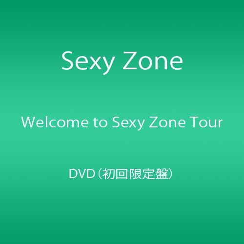 Welcome to Sexy Zone Tour DVD(初回限定盤) B01IQSKO62