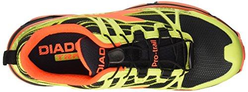 Diadora Trail Race, Scarpe da Corsa Unisex-Adulto Giallo (Giallo Fluo/Nero (C4102)