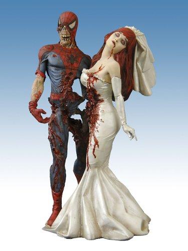Marvel - Milestone Statue: Marvel Zombies Spider-man & Mary Jane