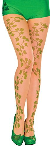Rubie's Women's Tights, Poison Ivy, One Size (Make Your Own Poison Ivy Costume)