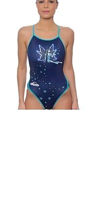 Preis bleibt stabil große sorten erstaunliche Qualität Turbo Badeanzug Damen Professionelle Fee Frau, Einteiler ...
