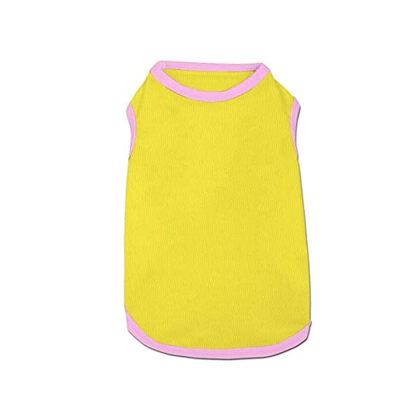 WUGOU Dog Cat Pet Shirt Clothes Puppy Vest Soft Thin Rainbow Unicorn 3 Sizes 4 Colors Available 6