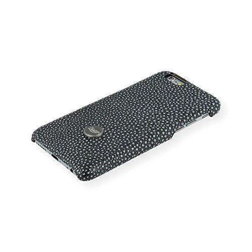 QIOTTI QX-C-0930-21-IP6 Snapcase Q.Snap Vulcan Premium Echtleder für Apple iPhone 6/6S schwarz