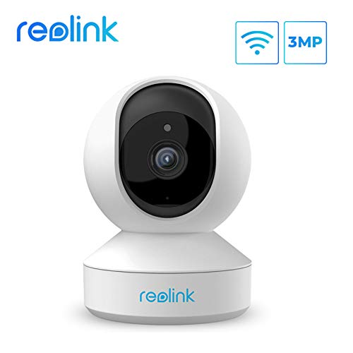 Wireless Camera, 3MP Security Camera WiFi Pet Cameras for Home Security System, Reolink Indoor Pan Tilt Baby Monitor with Phone App, Two-Way Audio, Night Vision,