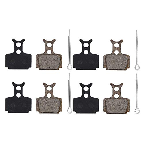 Used, Alomejor 4 Pairs Resin Bicycle Bike Disc Brake Pads for sale  Delivered anywhere in Canada