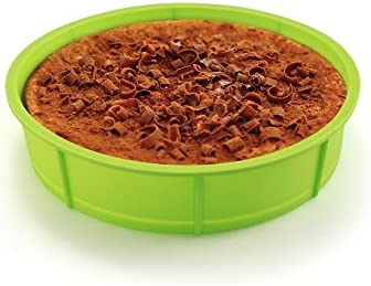 FranquiHOgar Sivita. Juego de Silicona Compuesto de Molde Redondo, escalfador y Estuche Vapor con Rejilla: Amazon.es: Hogar