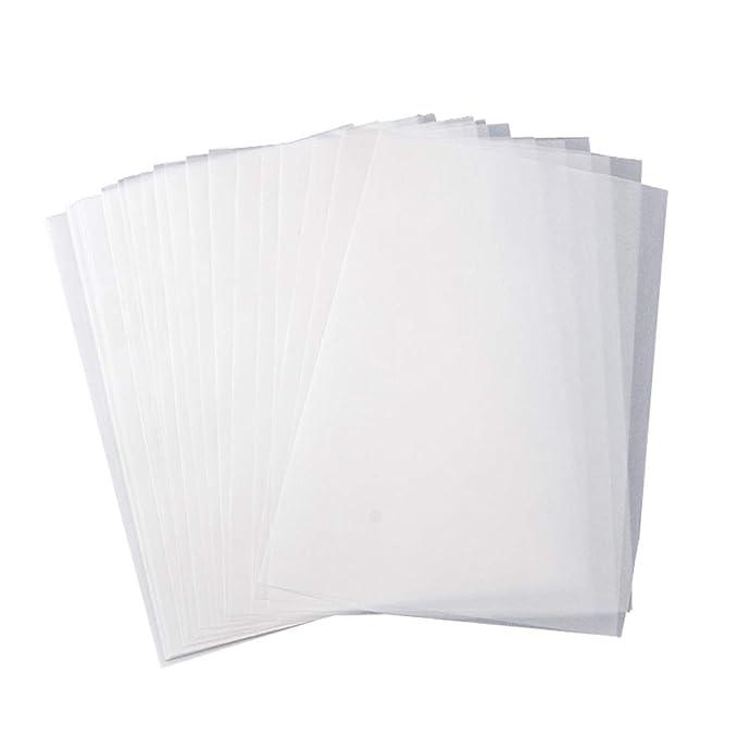 Papel de calco 100 hojas A4 Papel translúcido sin ácidos para ...