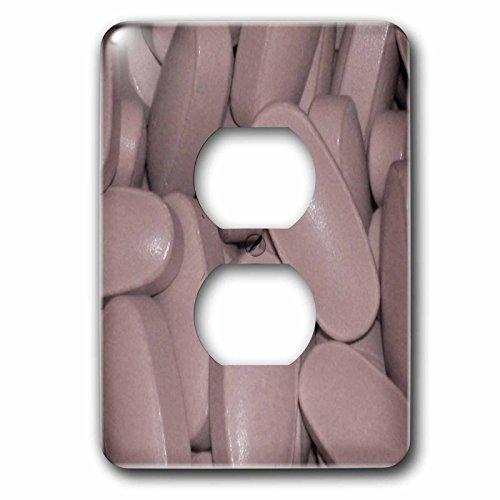 "3dRose lsp_50778_6""Prenatal Vitamins"" Outlet Cover"