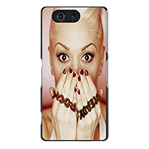 Cool Steady Rock Design No Doubt Pop Rock Band Singer Gwen Stefani Phone Case Cover for Sony Xperia Z3 Compact / Z3 Mini Music Popular Shell Case