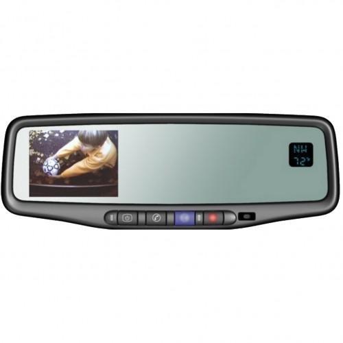 Camera Source CS-GMTR-356T Chevy Silverado / GMC Sierra Backup Camera + Onstar Mirror w/Temp + Compass