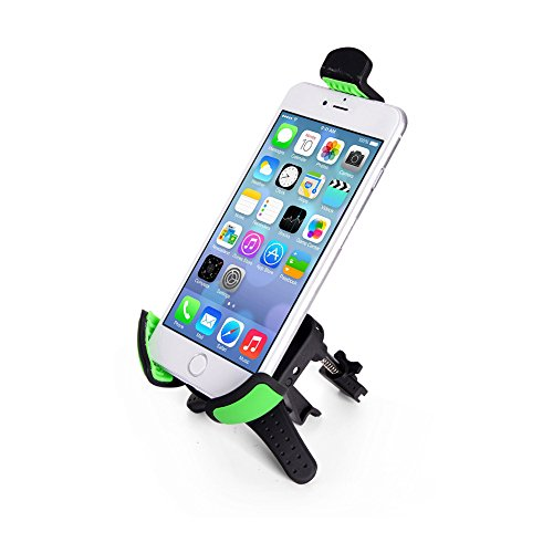 Car Mount,Universal Cell Phone Holder Stand on Air Vent Clip