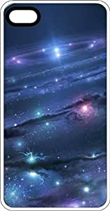 Heaven Above Full Of Galaxies White Plastic Case for Apple iPhone 5 or iPhone 5s