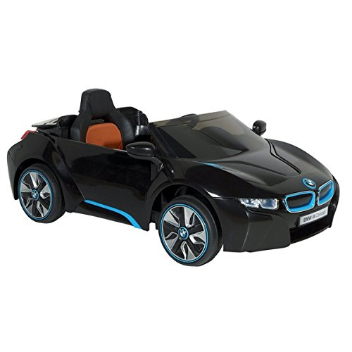 Dynacraft BMW I8 Concept 6-volt Electric Ride-on Car | Has A Working Headlights, Adjustable Seat Belt, And An MP3 Cord To Play Music by Dynacraft