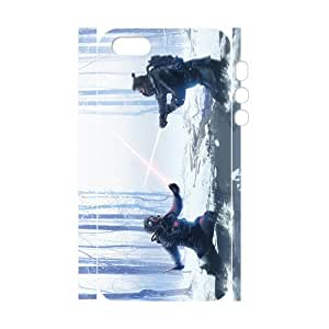 Custom The Star Wars Desgin Super Quality TPU Case Cover for 3d iPhone 5/5s