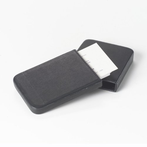 Clava Slide Leather Business Card Case