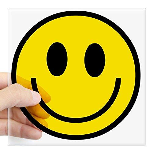 CafePress Happy Smile Square Sticker 3