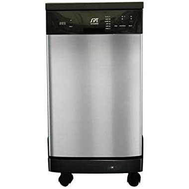 SPT SD-9241SS Energy Star Portable Dishwasher, 18-Inch, Stainless Steel