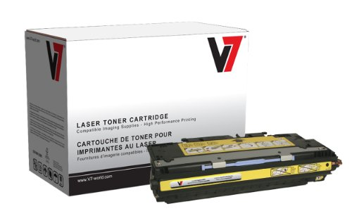 V7 V73700Y Laser Toner for HP Printers (Replaces Q2682A (HP 311A), Yield up to 6000 Pages)