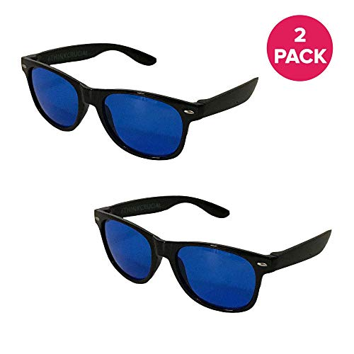 Think Crucial 2 Horticulture Indoor Hydroponics Grow Room & Greenhouse Light Glasses (Goggles), Anti UV, Ultra-Violet, HPS, MH Lights Reflection & Glare Optical Protection
