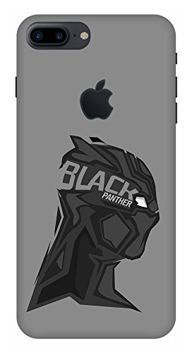 size 40 b0c63 729e4 ARTGIRI Black Panther Case Cover for iPhone 8 Plus Logo: Amazon.in ...