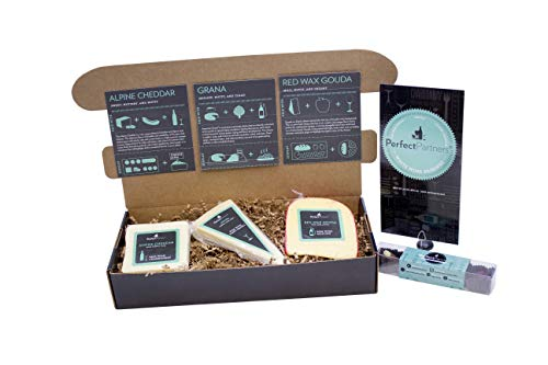 Perfect Partners Cheese & Chocolate for White Wine Pairing Gift Set, 26.4 oz (Pack of ()