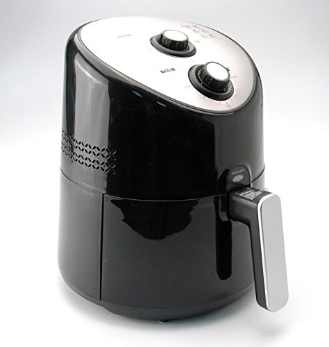 Toastmaster TM-172AF Air Fryer, 2.5-Liter, Silver/Black