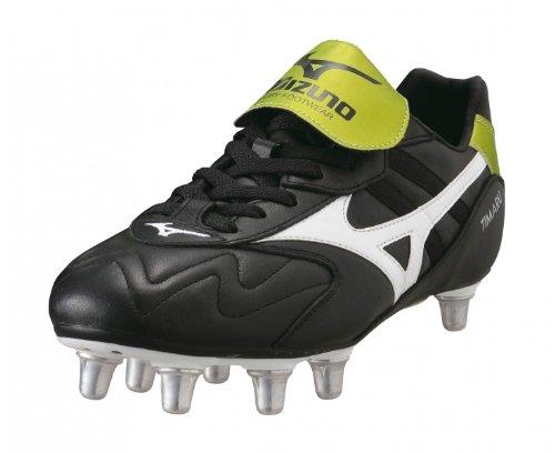 Mizuno Timaru Low Soft Ground calzado De Rugby, Negro (negro), 42 Negro - negro