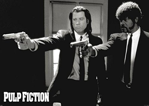 Pyramid America Pulp Fiction Duo Guns John Travolta