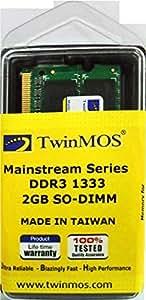 TWINMOS 2GB, 1600MHz, DDR3 RAM for laptp