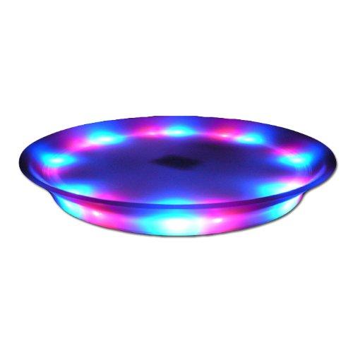 "Fortune ST-15R Super Lighted LED Serving Tray, 13.75"" Diameter"