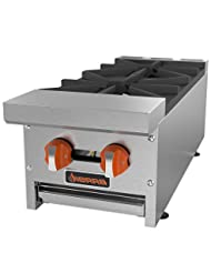 MVP Group SRHP-2-12 2 Burners Gas Hot Plate, 12\