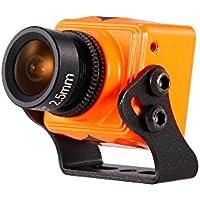 Goolsky RunCam Swift Mini 600TVL 2.5mm Lens DC 5-36V FPV Camera OSD w/ IR Blocked PAL for QAV250 Racing Drone Aerial Photography