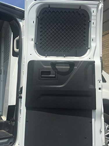 2016 + Ford Transit Window Screens for Low Roof Side swinging cargo (Swinging Screen)