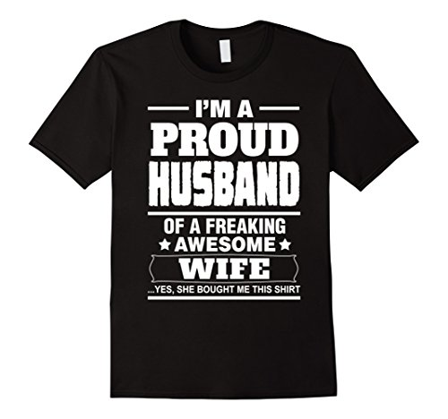 Men's SPECIAL GIFT FOR YOUR HUSBAND! - From the Awesome Wife! XL Black