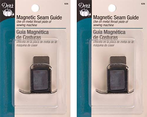 Why Choose Dritz 626 Seam Guide, Magnetic (2 Pack)