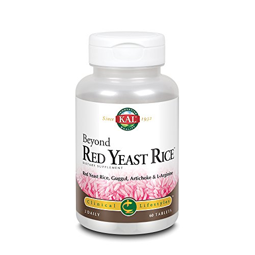 Cheap KAL Beyond Red Yeast Rice | Clinical Formula with B Vitamins, Guggul, Artichoke, L-Arginine HCl to Support Cardiovascular Health | 60 Tablets