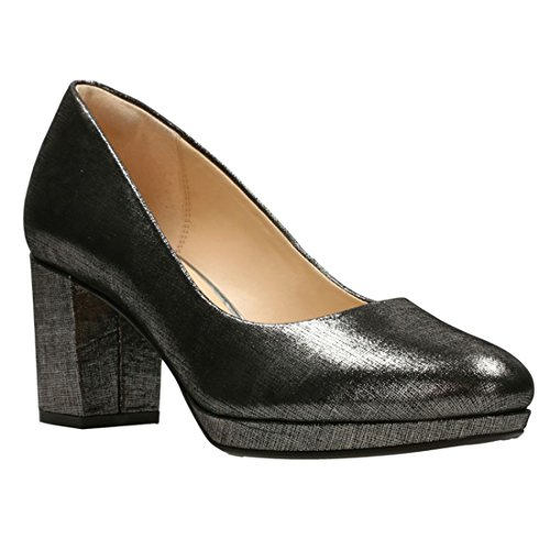 Clarks Womens Kelda Hope Pump Peltro
