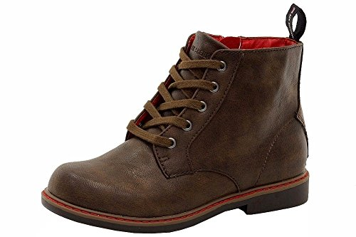 ben-sherman-boys-buckingham-fashion-brown-ankle-boots-shoes-sz-6