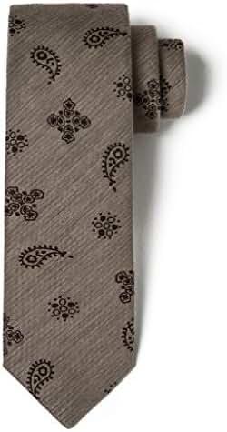 Origin Ties Men's Silk Mid Skinny Tie Handmade 2.25
