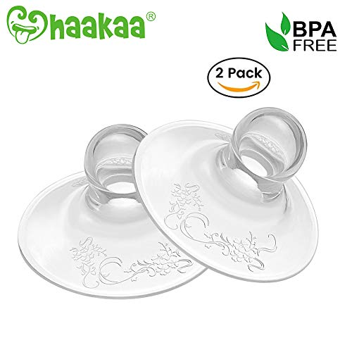 Haakaa Silicone Nipple Corrector StrongerSuction for Flat and Inverted Nipples BPA PVC and Phthalate Free