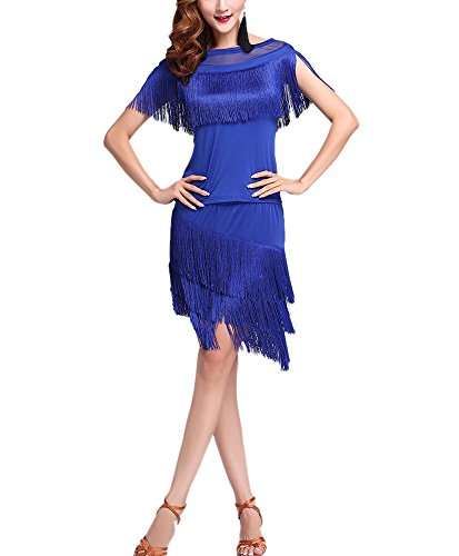 Whitewed Vintage Illusion Neck 1920's 1920s the Jazz Age Dress Costume Clothing (0/8, (Jazz Age Costume)