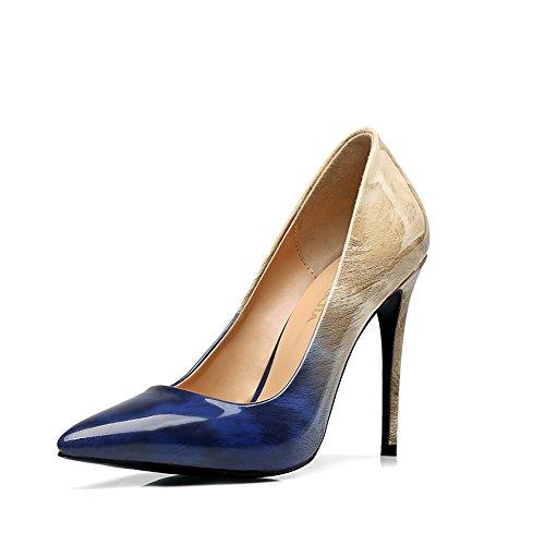 Bas Femme Blue amp;beige Amy 171219001 Q qF7waUB